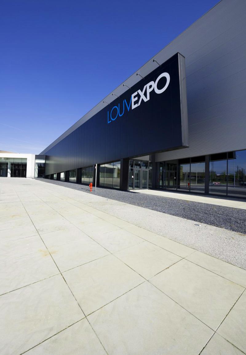 Louvexpo, l'endroit où se déroulera l'événement E-FORUM Belgique 2020