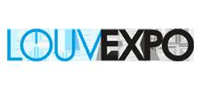 Logo du Louvexpo, l'endroit où se déroulera l'événement E-FORUM Belgique 2020