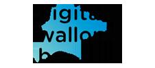 Logo de Digital Wallonia, partenaire de l'événement E-FORUM Begique 2020