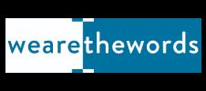 Logo de WeAreTheWords, animateur de l'événement E-FORUM Begique 2020