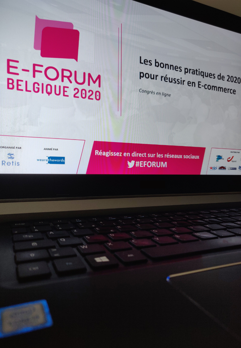 E-FORUM Belgique 2020, Congrès en ligne sur l'E-commerce