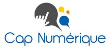 Logo de Cap Numérique partenaire de l'E-FORUM Belgique 2021
