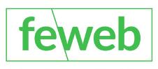 Logo de la Feweb partenaire E-FORUM Belgique 2021