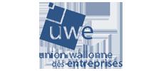 Logo de l'UWE partenaire de l'E-FORUM Belgique 2021