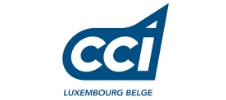 Logo de la CCI Luxembourg belge partenaite de l'E-FORUM Belgique 2021