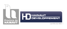 Logo de Hainaut Développement partenaire de l'E-FORUM Belgique 2021