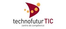 Logo de technofuturTIC partenaite de l'E-FORUM Belgique 2021